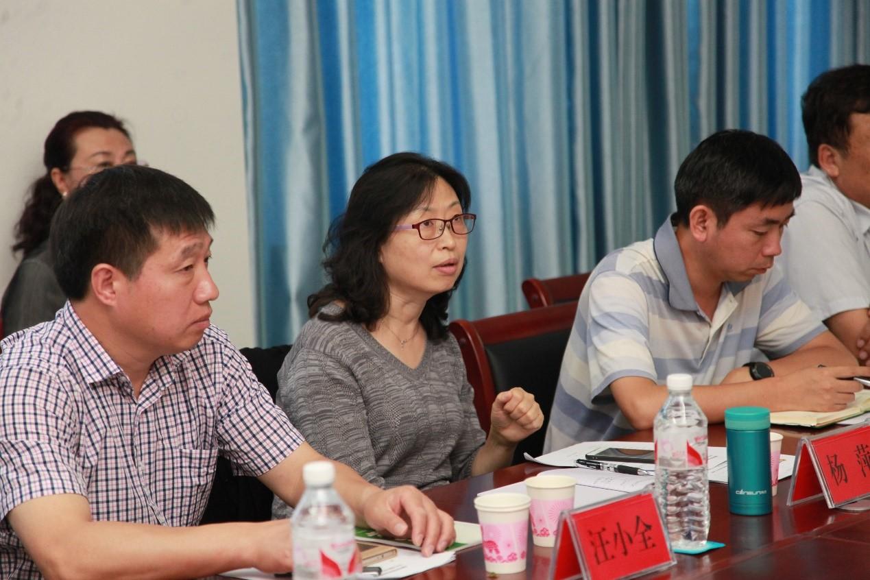 杨萍主任对野外台站建设和管理提出建议