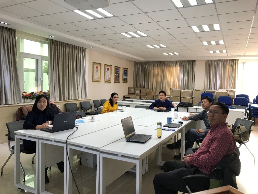 蒙古国科研人员报告实验平台年度工作进展