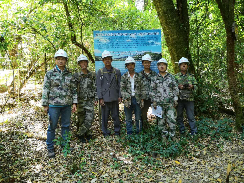 哀牢山亚热带常绿阔叶林20公顷大样地野外复查工作顺利完工