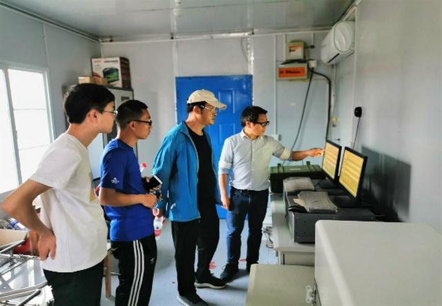 贵州师范大学副校长、北京师范大学教授杨胜天一行访问禹城站