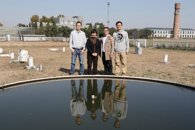 北京市农林科学院武菊英研究员一行到禹城站考察