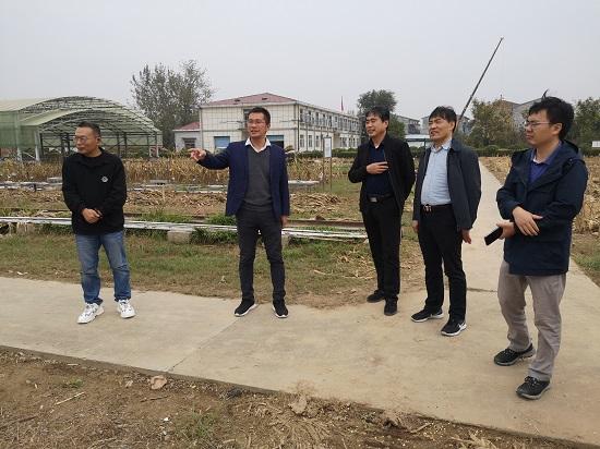 中国水利水电科学研究院专家到商丘站开展调研交流